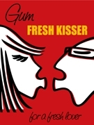 Vintage ad prints Fresh Kisser