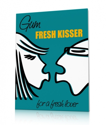 Kitchen art prints Kisser