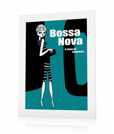 Girly posters blue Bossa