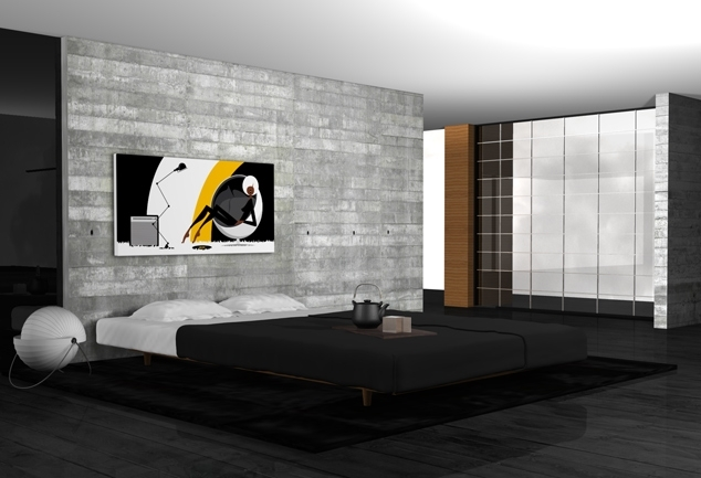 Cadre mural déco salon Very Very Satisfied