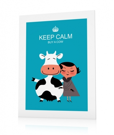 Cow posters Keep Calm
