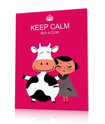Tableau girly rose Buy a Cow