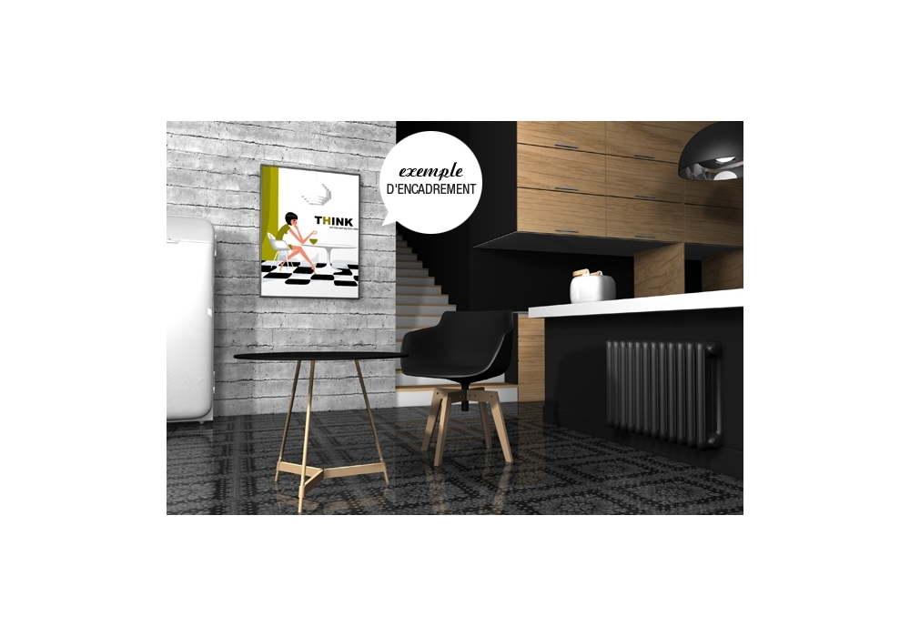 tableau moderne pour la cuisine new morning qorashai. Black Bedroom Furniture Sets. Home Design Ideas