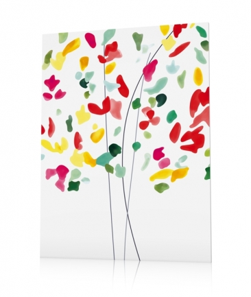 Tableau floral contemporain Guili