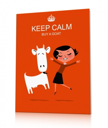 Déco Keep calm and Buy a Goat