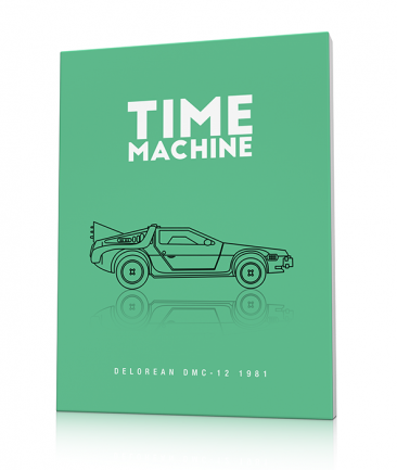 Tableau design Delorean Time machine