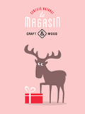 Tableau déco cerf scandinave Oh my gift