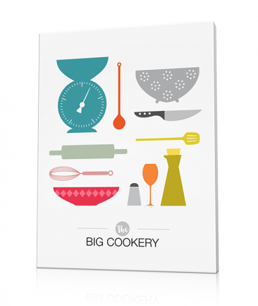 Tableau pour cuisine design The Big cookery
