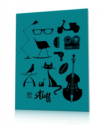 Tableau design pour dandy Blue Mr Stuff