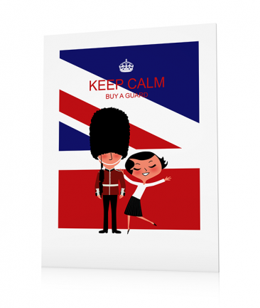 Poster Londres Keep Calm