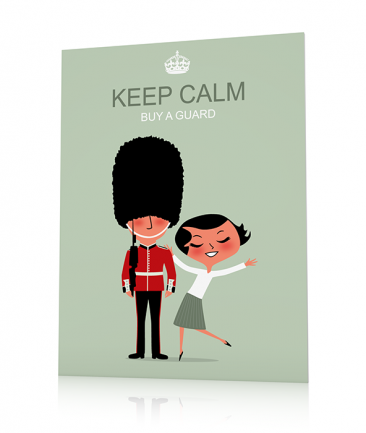 Poster London moderne Keep Calm