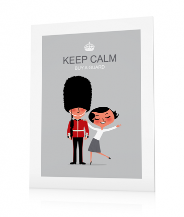 Poster Londres deco Keep Calm