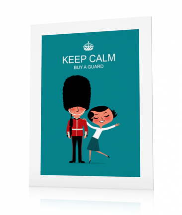 Affiche Londres déco Keep Calm