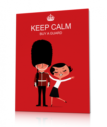 Tableau London rouge Keep Calm
