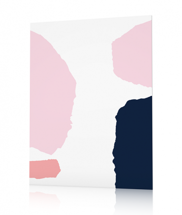 Contemporary abstract poster Juwele