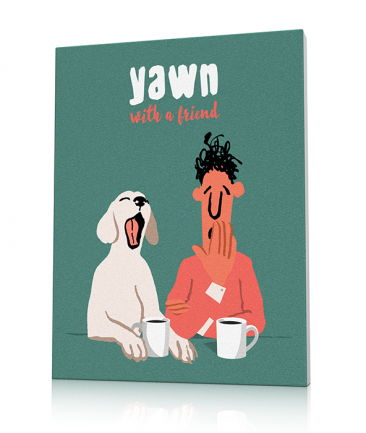 Modern Kitchen art prints Yawn