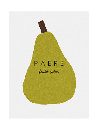 Kitchen art prints pear
